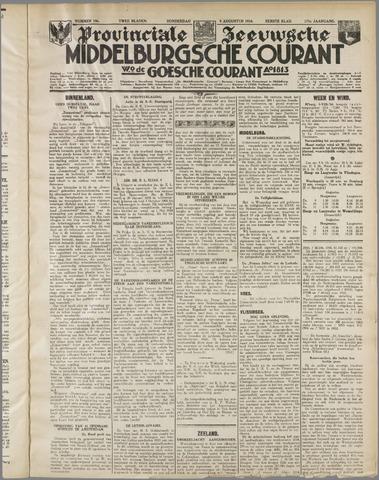 Middelburgsche Courant 1934-08-09