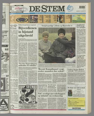 de Stem 1996-11-21
