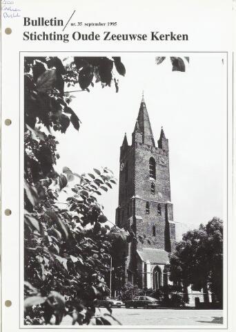 Bulletin Stichting Oude Zeeuwse kerken 1995-09-01