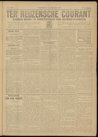 Ter Neuzensche Courant. Algemeen Nieuws- en Advertentieblad voor Zeeuwsch-Vlaanderen / Neuzensche Courant ... (idem) / (Algemeen) nieuws en advertentieblad voor Zeeuwsch-Vlaanderen 1932-01-13