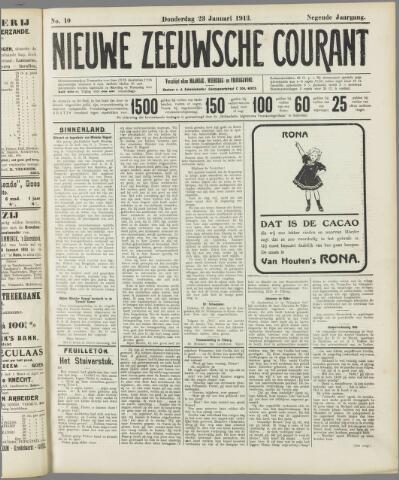 Nieuwe Zeeuwsche Courant 1913-01-23