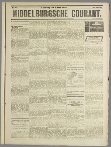 Middelburgsche Courant 1925-03-30