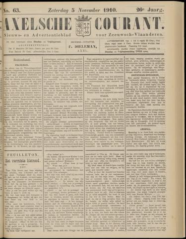 Axelsche Courant 1910-11-05