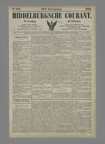 Middelburgsche Courant 1884-10-22