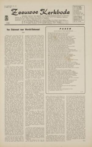 Zeeuwsche kerkbode, weekblad gewijd aan de belangen der gereformeerde kerken/ Zeeuwsch kerkblad 1966-04-08