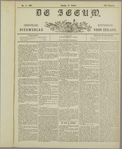 De Zeeuw. Christelijk-historisch nieuwsblad voor Zeeland 1896-10-13