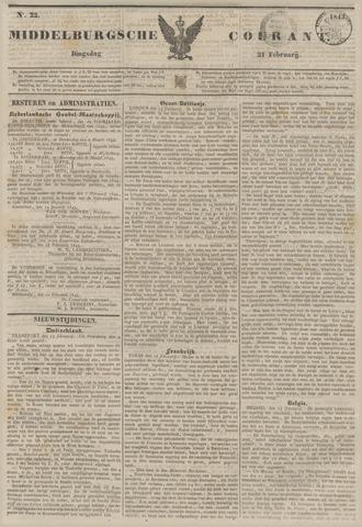 Middelburgsche Courant 1843-02-21