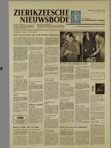 Zierikzeesche Nieuwsbode 1970-09-21