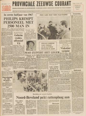 Provinciale Zeeuwse Courant 1967-01-13