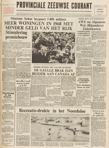 Provinciale Zeeuwse Courant 1967-07-27