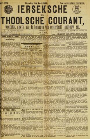 Ierseksche en Thoolsche Courant 1904-06-25
