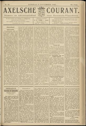 Axelsche Courant 1925-11-17