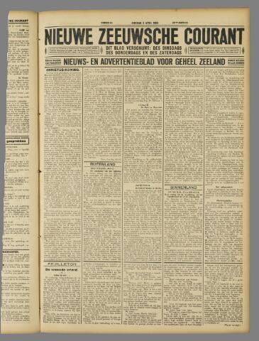 Nieuwe Zeeuwsche Courant 1928-04-03