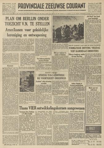 Provinciale Zeeuwse Courant 1959-04-11