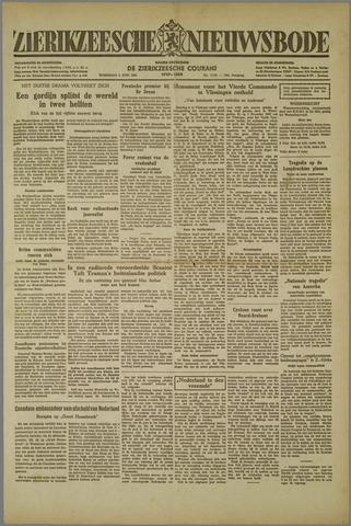 Zierikzeesche Nieuwsbode 1952-06-04