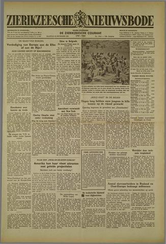 Zierikzeesche Nieuwsbode 1952-09-22