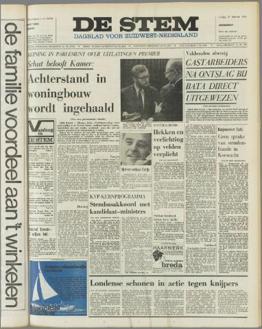 de Stem 1970-02-27