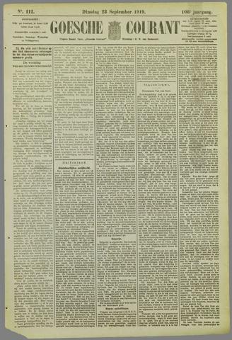 Goessche Courant 1919-09-23