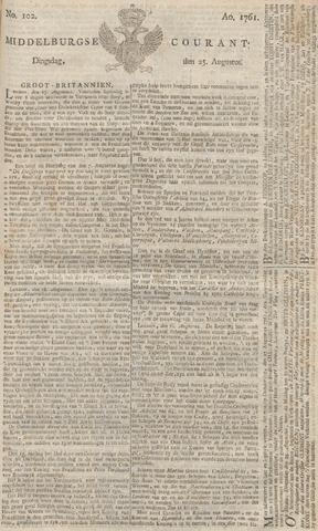 Middelburgsche Courant 1761-08-25