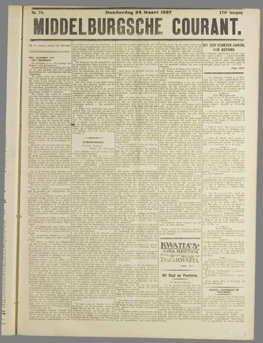 Middelburgsche Courant 1927-03-24