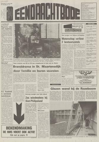 Eendrachtbode (1945-heden)/Mededeelingenblad voor het eiland Tholen (1944/45) 1989-04-13