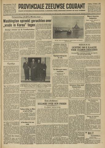 Provinciale Zeeuwse Courant 1951-03-16