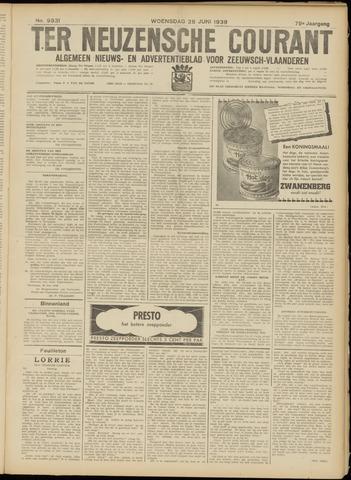 Ter Neuzensche Courant. Algemeen Nieuws- en Advertentieblad voor Zeeuwsch-Vlaanderen / Neuzensche Courant ... (idem) / (Algemeen) nieuws en advertentieblad voor Zeeuwsch-Vlaanderen 1939-06-28