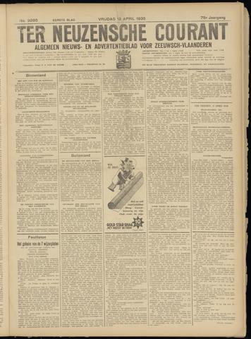 Ter Neuzensche Courant. Algemeen Nieuws- en Advertentieblad voor Zeeuwsch-Vlaanderen / Neuzensche Courant ... (idem) / (Algemeen) nieuws en advertentieblad voor Zeeuwsch-Vlaanderen 1935-04-12