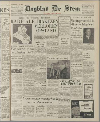 de Stem 1963-11-14
