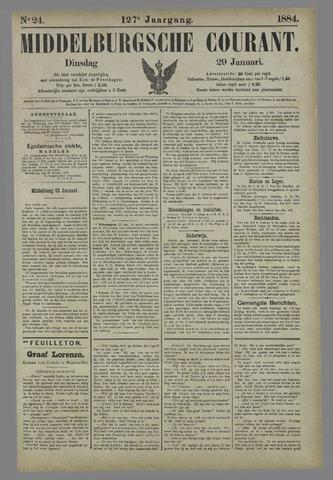 Middelburgsche Courant 1884-01-29