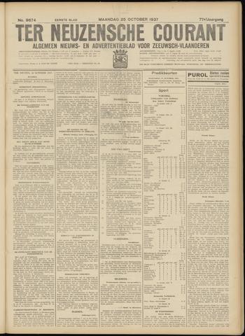 Ter Neuzensche Courant. Algemeen Nieuws- en Advertentieblad voor Zeeuwsch-Vlaanderen / Neuzensche Courant ... (idem) / (Algemeen) nieuws en advertentieblad voor Zeeuwsch-Vlaanderen 1937-10-25