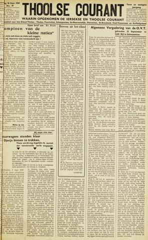 Ierseksche en Thoolsche Courant 1947-09-26