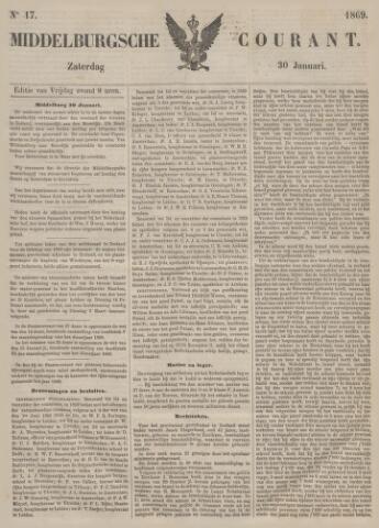 Middelburgsche Courant 1869-01-30