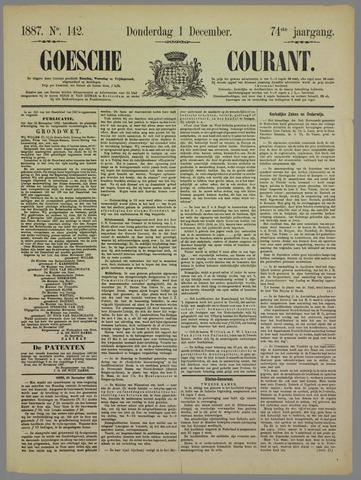 Goessche Courant 1887-12-01