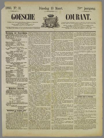 Goessche Courant 1883-03-13