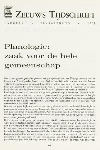 Zeeuws Tijdschrift 1968-11-01