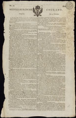 Middelburgsche Courant 1814-10-04