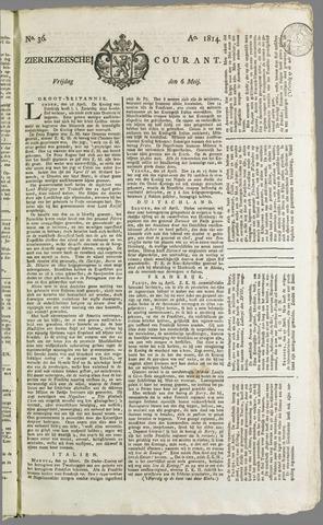 Zierikzeesche Courant 1814-05-06