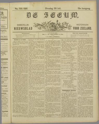 De Zeeuw. Christelijk-historisch nieuwsblad voor Zeeland 1901-07-30