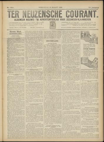 Ter Neuzensche Courant. Algemeen Nieuws- en Advertentieblad voor Zeeuwsch-Vlaanderen / Neuzensche Courant ... (idem) / (Algemeen) nieuws en advertentieblad voor Zeeuwsch-Vlaanderen 1930-03-12