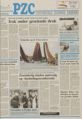 Provinciale Zeeuwse Courant 1992-07-29