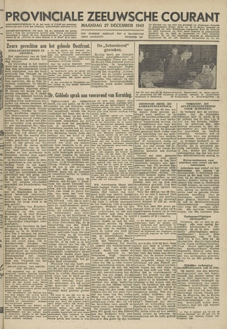 Provinciale Zeeuwse Courant 1943-12-27