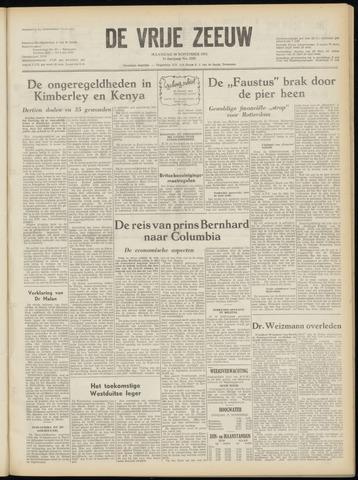 de Vrije Zeeuw 1952-11-10