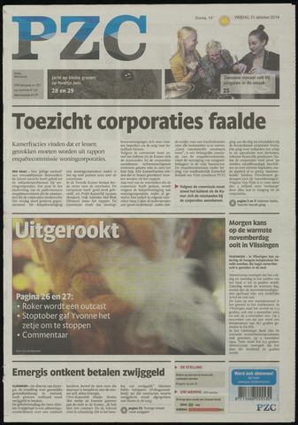 Provinciale Zeeuwse Courant 2014-10-31