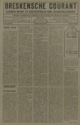 Breskensche Courant 1924-07-26
