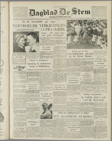 de Stem 1955-10-22