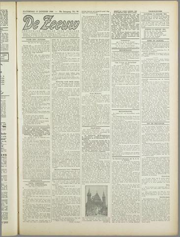 De Zeeuw. Christelijk-historisch nieuwsblad voor Zeeland 1944-01-15
