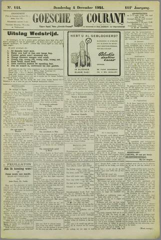 Goessche Courant 1924-12-04
