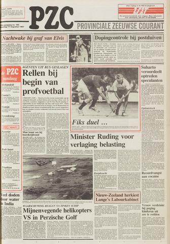 Provinciale Zeeuwse Courant 1987-08-17