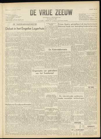 de Vrije Zeeuw 1956-09-13